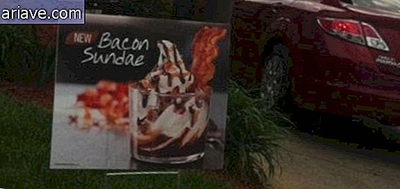 Bacon flavored sundae: here comes the newest freak of fast food